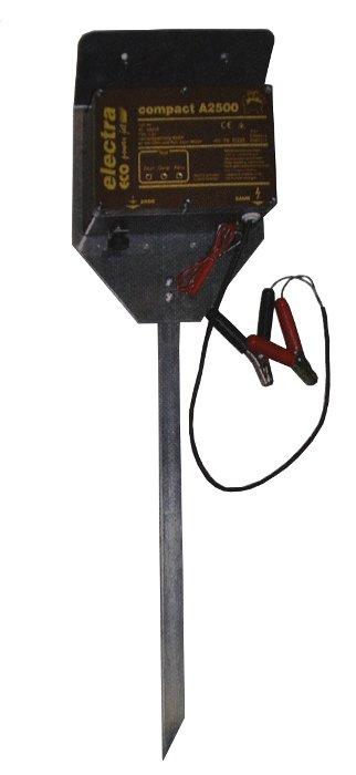 electra Weidezaungerät compact A2500 mit Aufstellpfahl