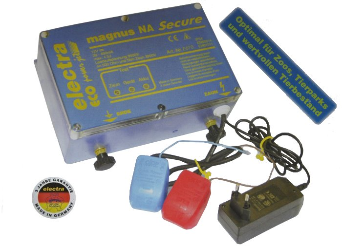 electra magnus NA Secure Notstrom-Gerät