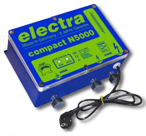 electra Weidezaungerät compact N5000 Netzgerät